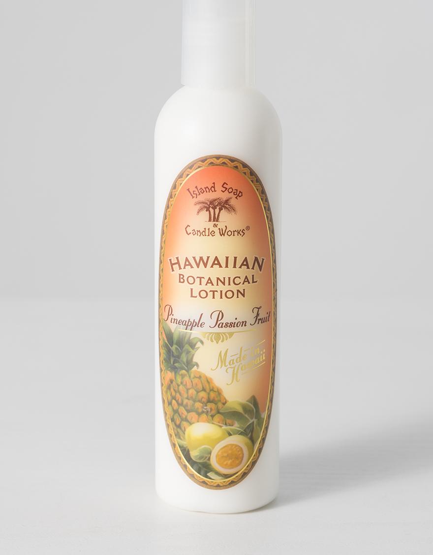 【ハワイアン雑貨】Island soap&Candle Worksトロピカルローション(パッションフルーツ)